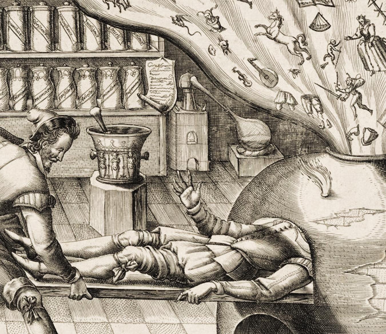 Il medico cura la fantasia - Mattheus Greuter, 1620